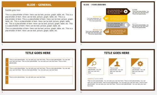 Orange Medicines PowerPoint theme