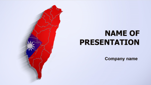 Taiwan Beauty PowerPoint theme