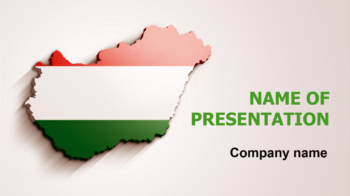 Hungary Flag PowerPoint theme