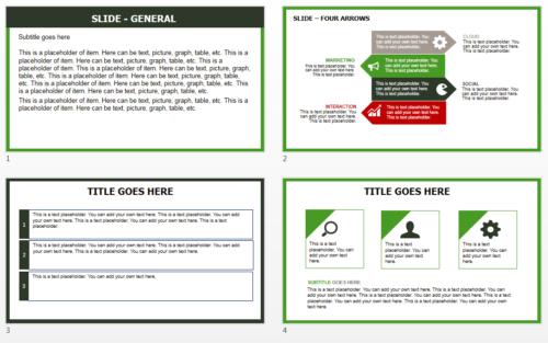 Hungary Flag PowerPoint theme