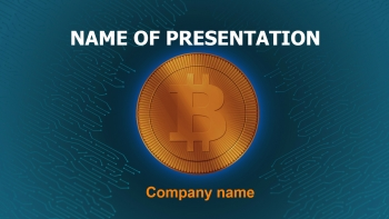 FreeBuy Cryptocurrency PowerPoint theme
