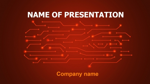 Free Coding PowerPoint theme