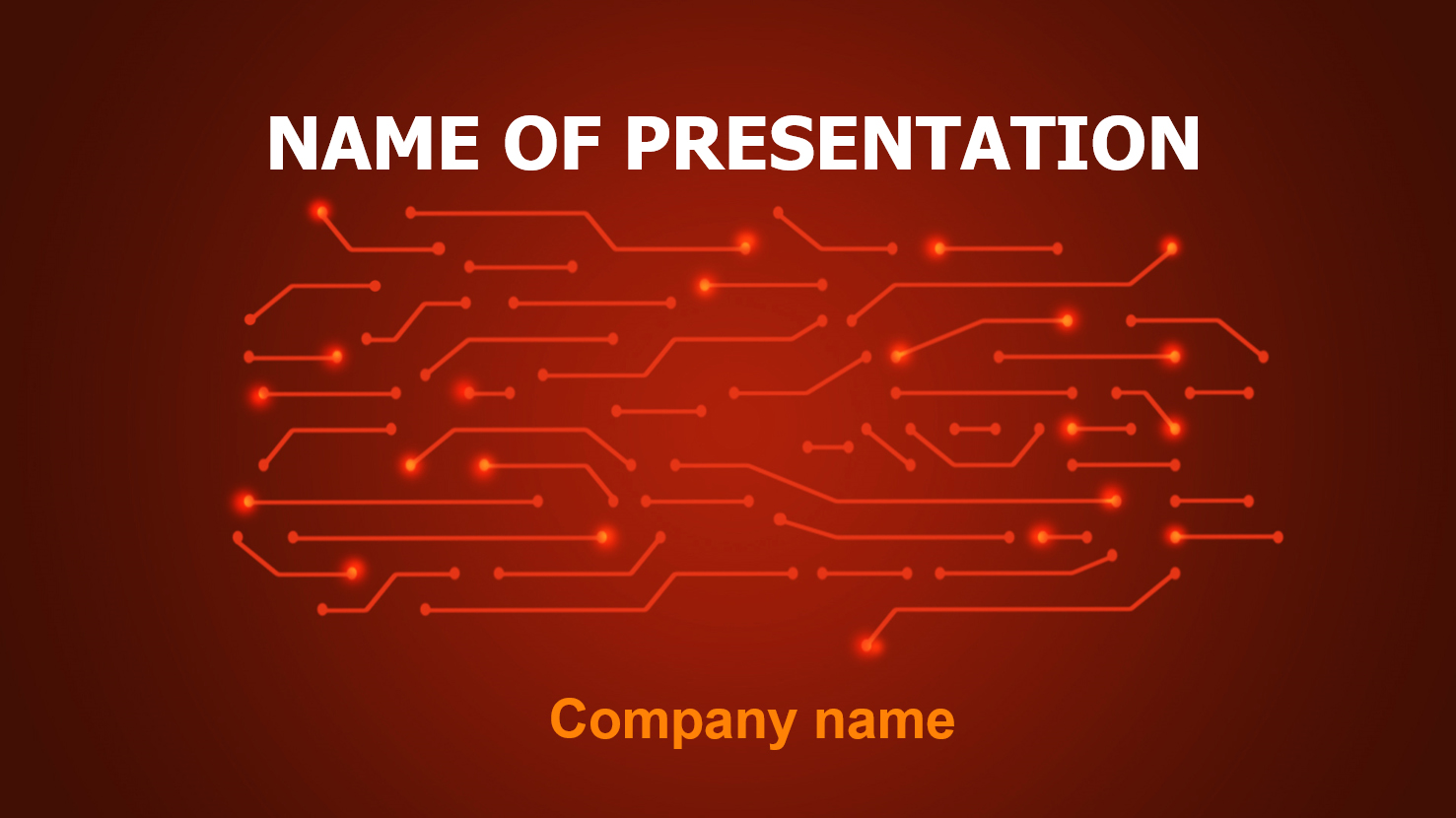 Free Coding powerpoint template presentation