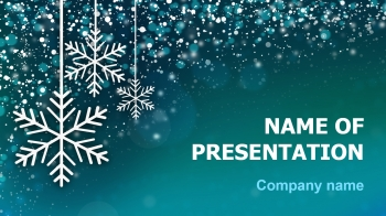 Free Cold Season PowerPoint theme