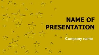 Free Stars PowerPoint theme