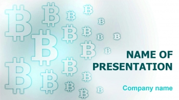 Free Bitcoin Coding PowerPoint theme