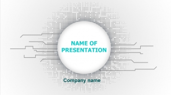 Free Tech PowerPoint theme
